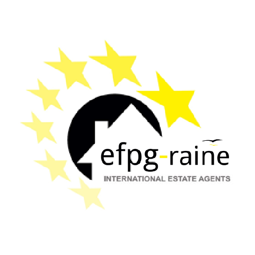 EFPG-Raine Int Estate Agents Logo
